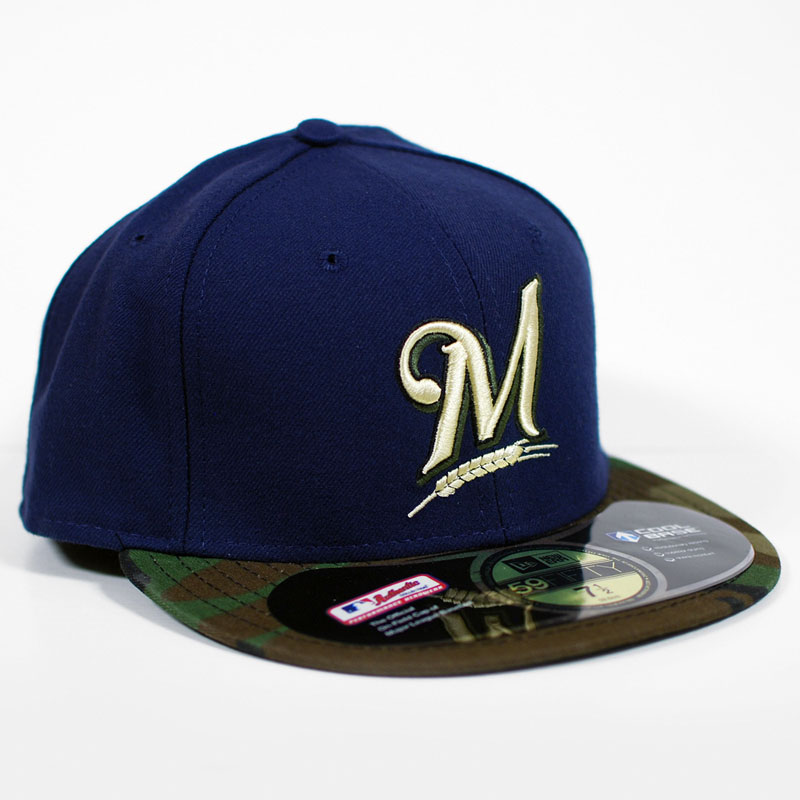 Field Authentic New Era 5950 Hat Fitted Official On Cool Base
