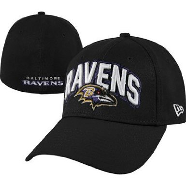 b958caaa415 Baltimore Ravens 2012 L XL New Era 3930 NFL Draft Hat on PopScreen