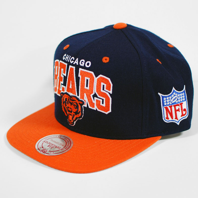 60f962fdd3f57 CHICAGO BEARS Mitchell   Ness Wool D11 Snapback Hat on PopScreen