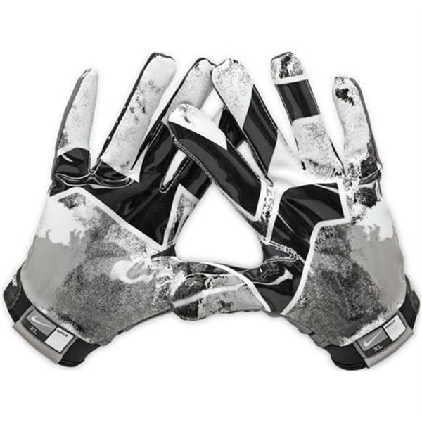 Nike Football Gloves: WEST VIRGINIA Nike Pro Combat Football Gloves XL