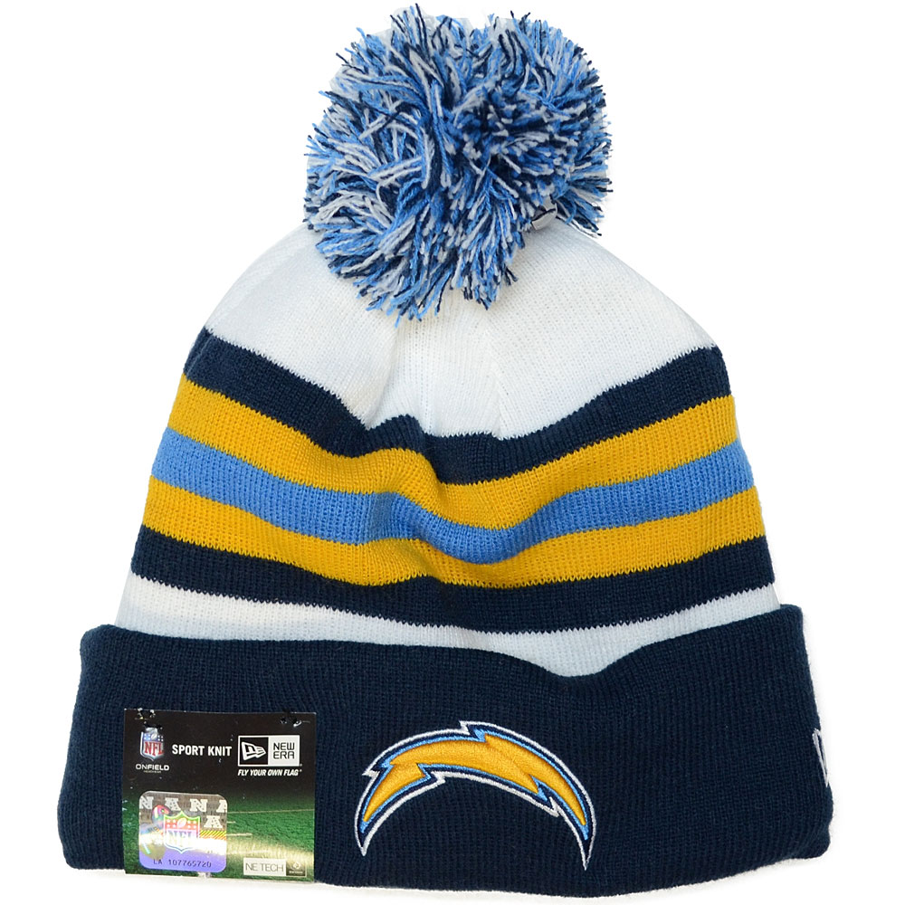 San Diego Chargers Fitted Hats: SAN DIEGO CHARGERS New Era NFL Sideline 2013 On Field