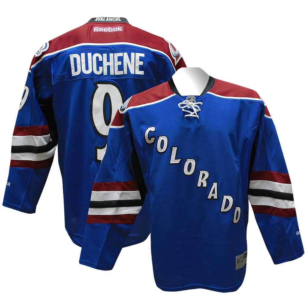 916790357 COLORADO AVALANCHE Matt Duchene RBK Premier 3rd Jersey XL on PopScreen